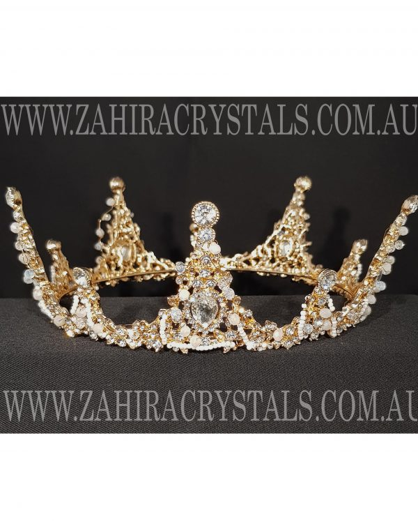 Zahira Bridal Crown #6