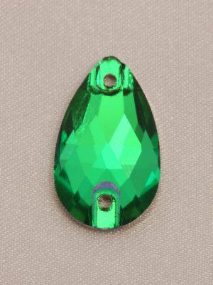 Emerald Teardrop Rhinestones