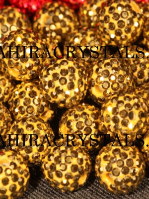 Gold Rhinestones Disco Balls