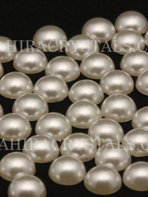 Flatback Pearls Ivory