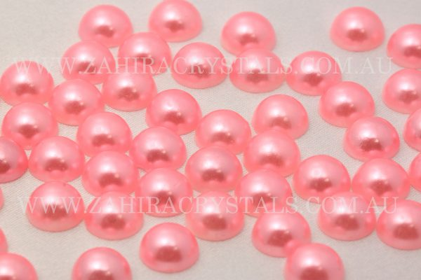 Flatback Pearls Misty Rose