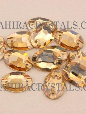Zahira Golden Glow Oval