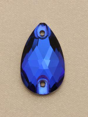 Sapphire Teardrop Rhinestone