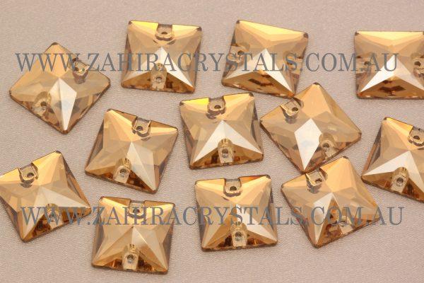 Golden Glow Zahira Squares