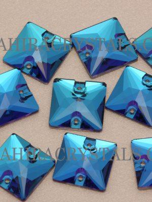 Swiss Blue Zahira Squares
