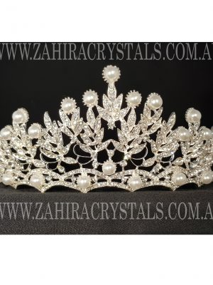 Zahira Bridal Tiara #4