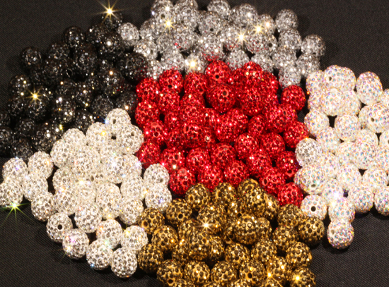 Rhinestone Disco Balls have arrived for 2018!