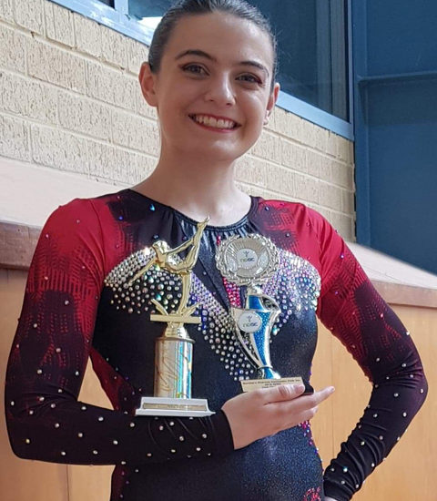 Zahira shines at Northern Districts Gymnastics Club