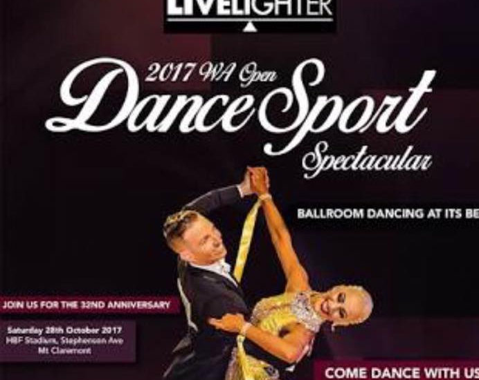 Zahira Crystals - Proud partner of the Livelighter WA Open Dancesport Spectacular