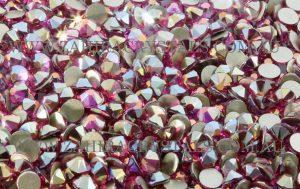 Zahira Crystals Limited Release Fuchsia Flatback Rhinestones